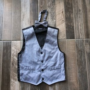 Other - Boys Vest with bow tie